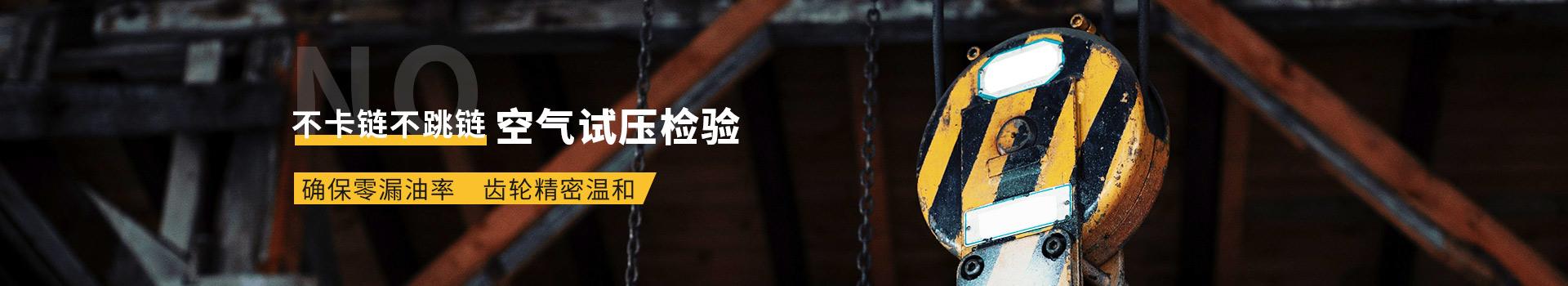 鬼头电动葫芦链轮    不卡链不跳链   空气试压检验     确保零漏油率    齿轮精密温和
