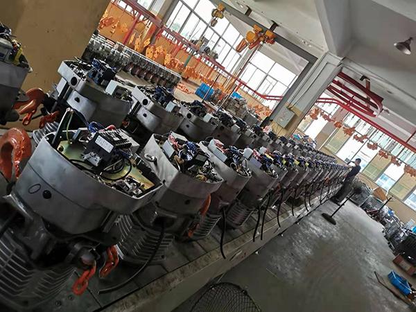 汉祥机械工厂车间