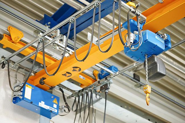 沃达起重使用汉祥机械环链电动葫芦链轮